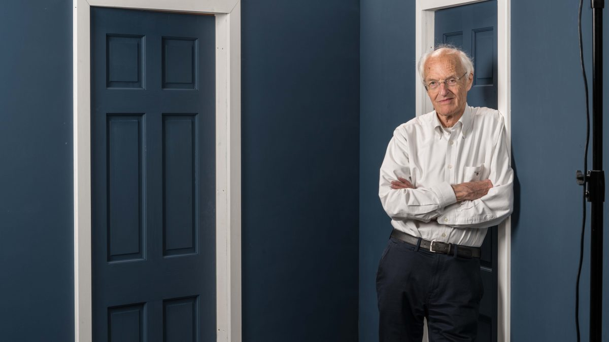 Noises Off: Simon Stephens in conversation with Michael Frayn