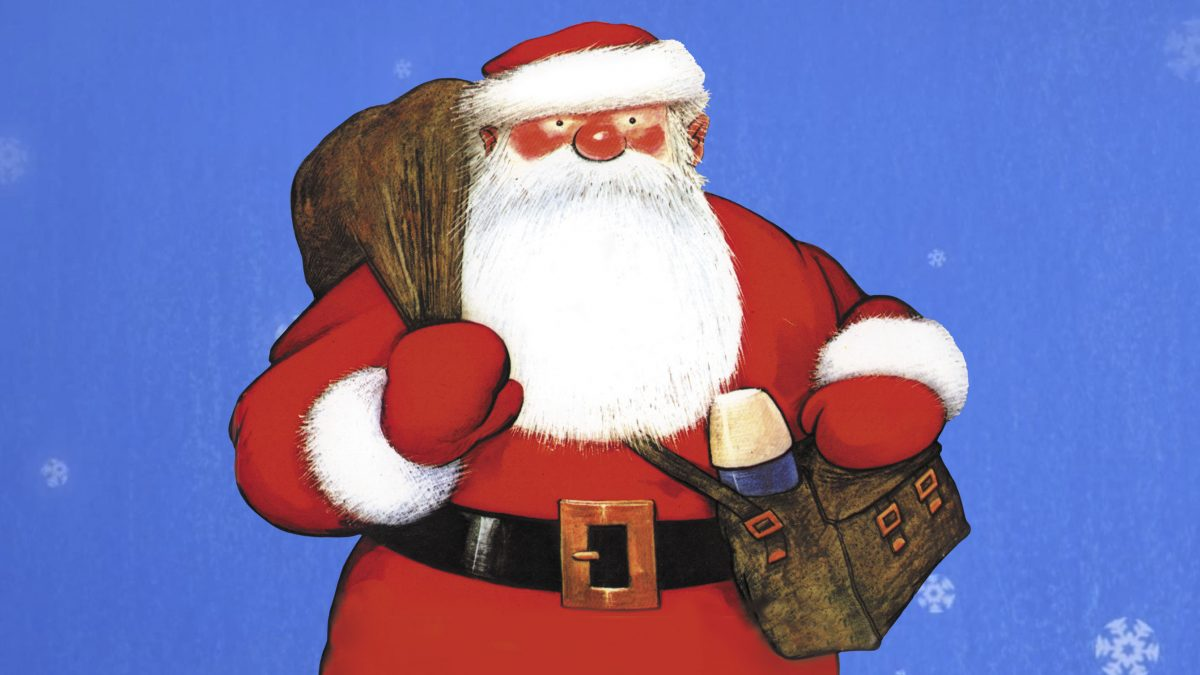 Raymond Briggs' Father Christmas returns digitally  to bring festive joy to all